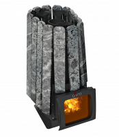 Печь Grill'D Cometa 350 Vega Short Window Max Stone